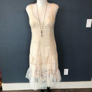 Rebecca Taylor beautiful cream fancy dress size 6